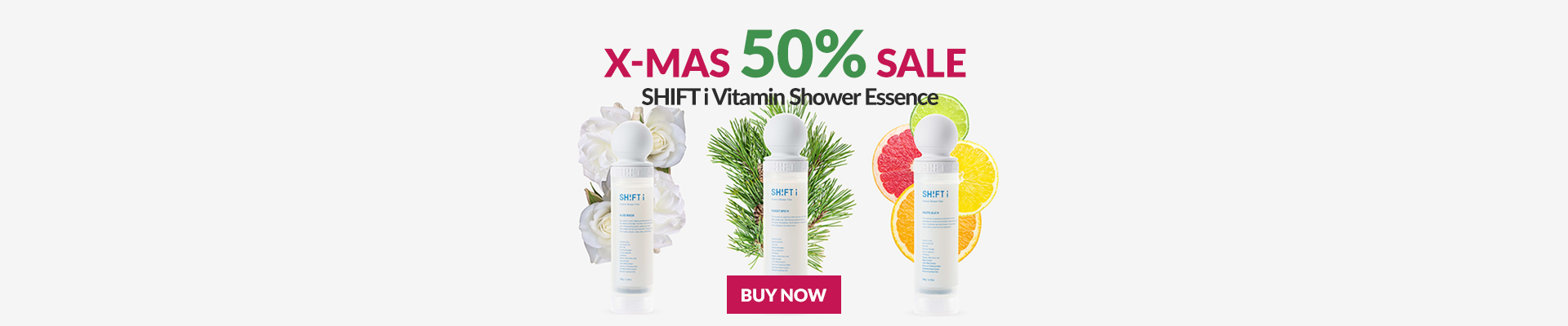 SHIFT i  SHOWER ESSENCE! Vòi Sen đẹp da