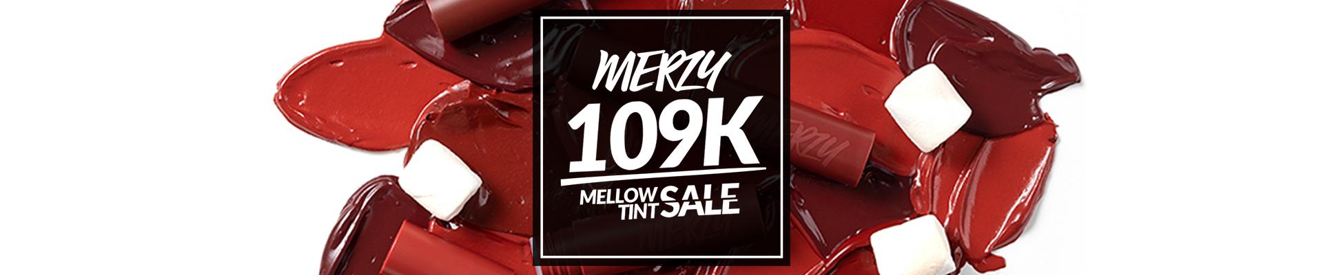 MERZY BITE THE BEAT MELLOW TINT SALE! 109K