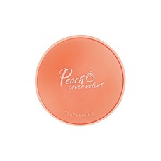 BLACK ROUGE Peach cover velvet cushion