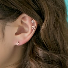 PINKROCKET STACCATO HEART BARBELL PIERCING